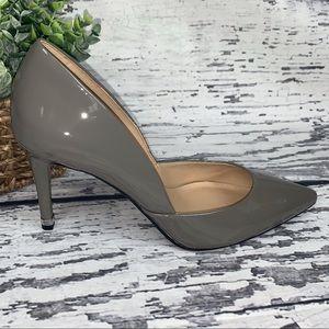 MICHAEL Michael Kors Gray Patent Leather Heels - 7